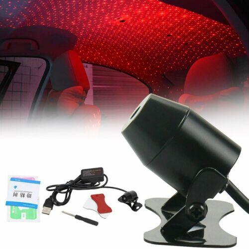 USB Car Romantic Atmosphere Lamp Interior Ambient Star Light Starry Sky Bright