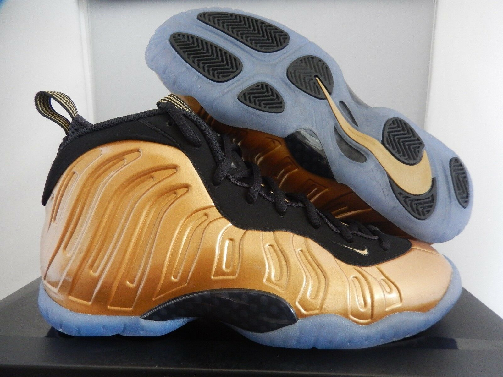 NIKE LITTLE POSITE ONE (GS) METALLIC GOLD- Noir SZ 5Y -femmes  SZ 6.5 [644791-700]