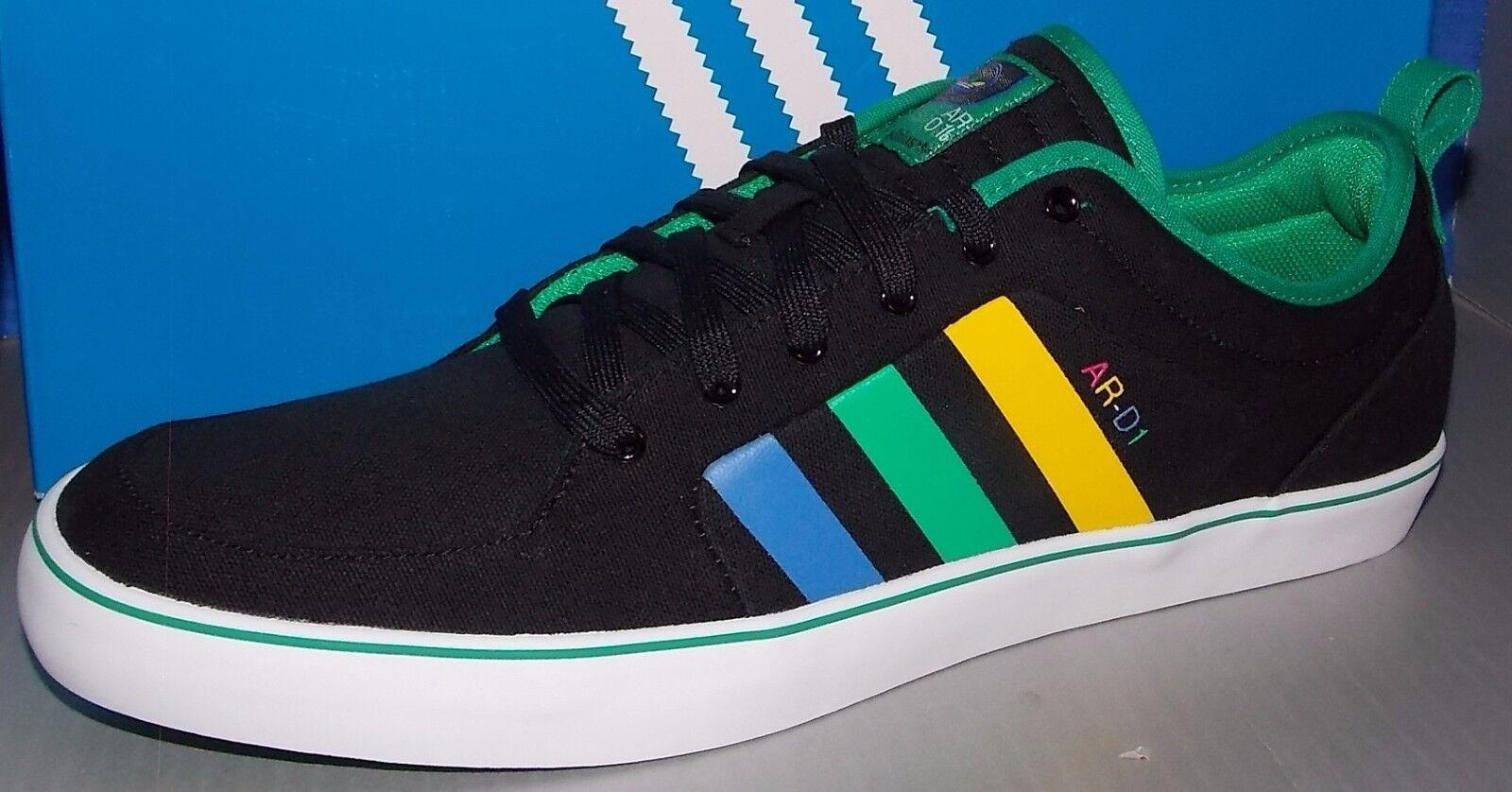 Hombre colores Adidas ARD1 baja en colores Hombre negro / blanco Corriendo / Corriendo Blanco Tamaño 10 9db131