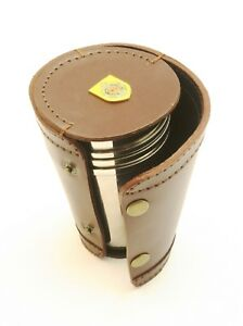 ArGyll and Sutherland 4 Stacking Stirrup Shot Cups in Leather Case NEW BKG27 2zJZ0EaE-09172028-818517745