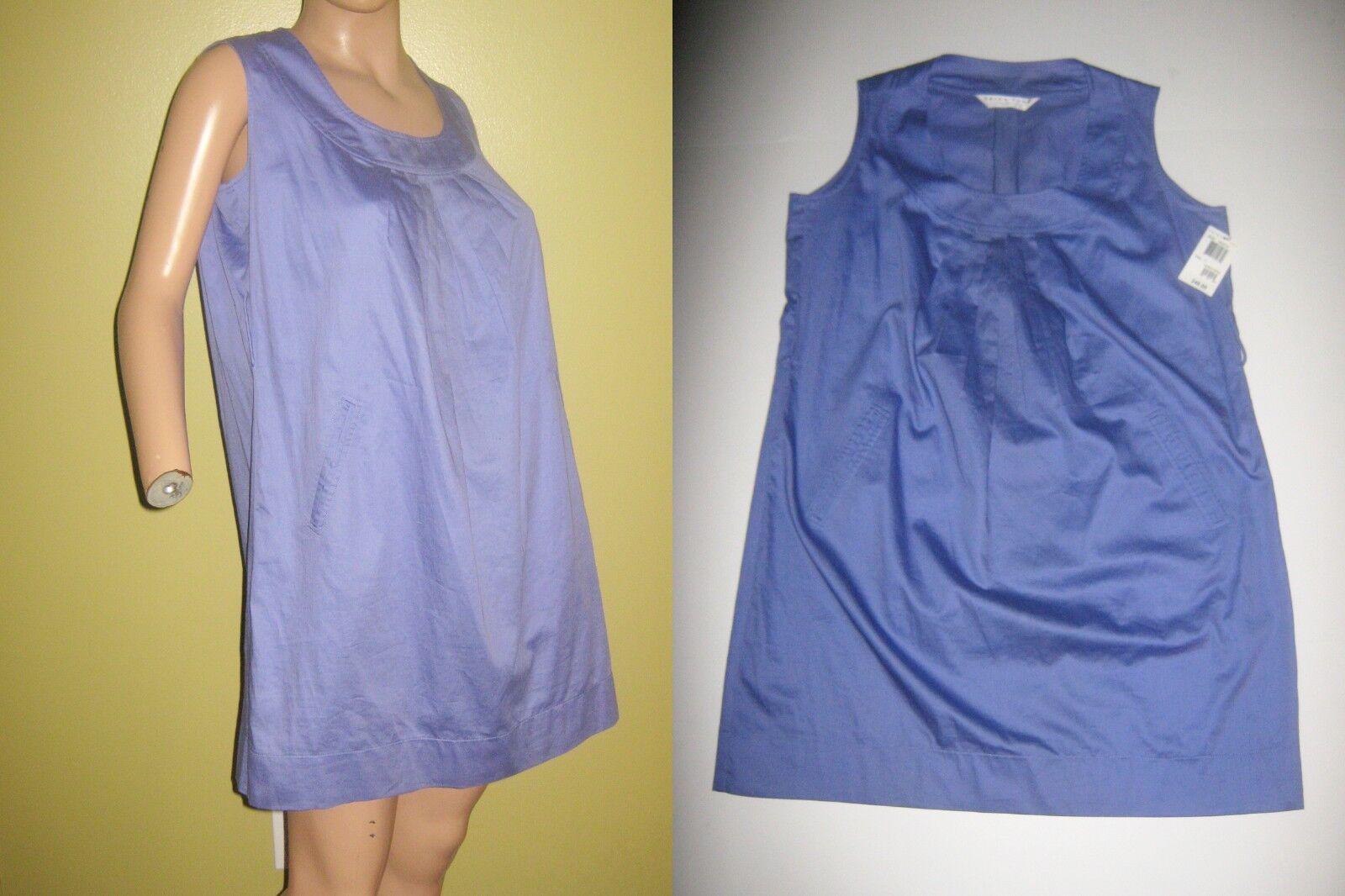 NEW Free s h TRINA TURK sz 12 purpleta Sleeveless DRESS bust 42 nwt