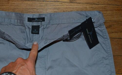 Marc Anthony Casual Shorts Mens Gray Short MSRP $48.00