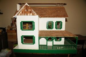 Dura-craft-FH500-Farmhouse-dolls-house-For-Renovation-Completion-American-Large