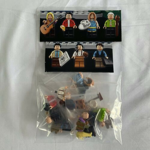 New LEGO Ideas FRIENDS TV Show 7 Minifigures 21319 Central Perk
