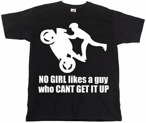 Get-It-Up-Funny-Men-039-s-Black-T-shirts-Motorcycle-Motorbike-Birthday-Present-Gift