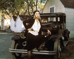 Faye Dunaway Color 11x14 Photo Bonnie Clyde By Car Ebay
