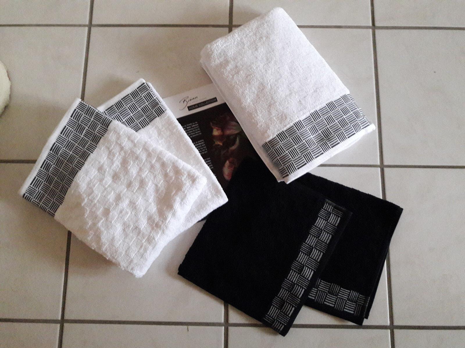 Handtuchset  Brian Rennie hochwertig Baumwolle 5tlg.weiß     | Deutschland Online Shop