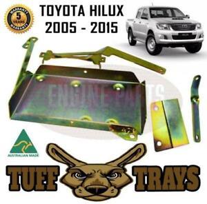 TUFF TRAYS TOYOTA HILUX 2005-2015 KUN26 DUAL BATTERY TRAY CRADLE PETROL & DIESEL