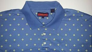 Polo Shirt By Austin Reed London Mens Cool Design Baby Blue Casual Polo Shirt Ebay