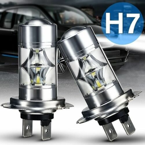BMW 5 95-00 2x H7 SUPER WHITE CREE LED SMD 30W CANBUS BULBS LIGHT 501 E39