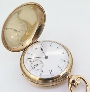 J-H-Allison-Detroit-Rare-Pivoted-Detent-Chronometer-Gold-Pocket-Watch-No-19