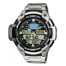 NEW Casio SGW-400HD-1BVER Altimeter Quartz 10ATM Chronograph Watch RRP £150