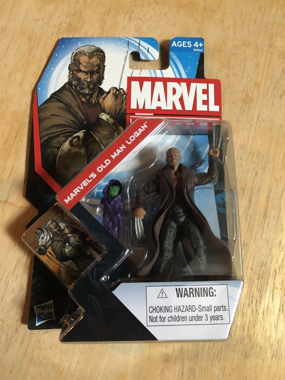 Marvel Universe 2013 SDCC Exclusive Old Man Logan & Baby Hulk Figure Comic Con