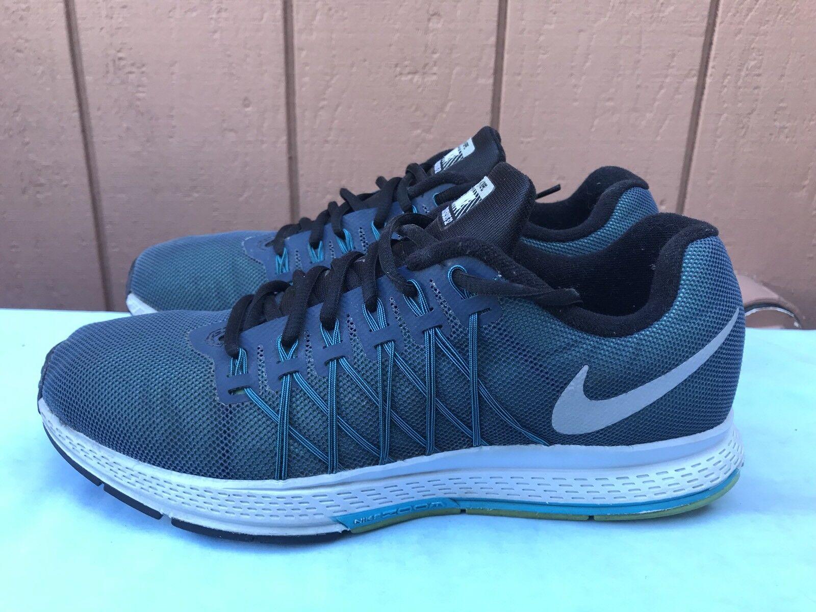 EUC! Nike Air Zoom Pegasus 32 Flash H2O Uomo 8.5 Running Trainers 806576 400 A6