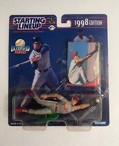 1998 MLB Starting Lineup Extended Scott Rolen Philadelphia Phillies figure