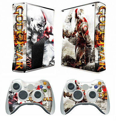 Video Games & Consoles Gow 210 Vinyl Decal Cover Skin Sticker For Xbox360 Slim And 2 Controller Skins Punctual Timing