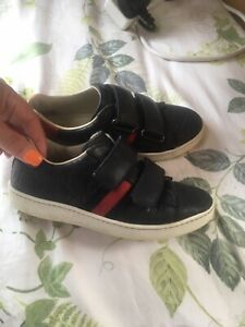 boys gucci trainers Size 30 Uk 11 1/2