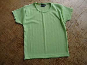 Lot Tee Shirt.taille:2.1 Gyla Vert,1 Camaieu Jaune. Vous Garder En Forme Tout Le Temps