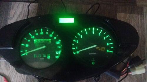 Horloge DEL Upgrade Kit lightenupgrade Blanc HONDA DEAUVILLE NTV 650
