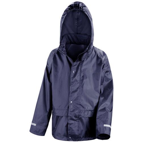 Kid Children Junior Result Core StormDri Waterproof Rain Jacket Coat