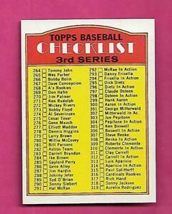 1972-TOPPS-251-UNMARKED-CHECKLIST-NRMT-MT-CARD-INV-A8272