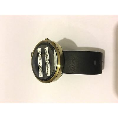 New Motorola Moto 360 Stainless Steel Gold Android Smart Watch Activity Tracker