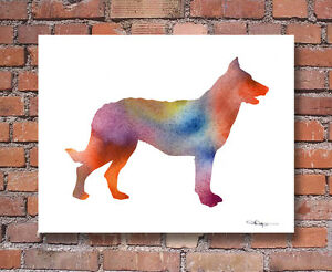 BEAUCERON-Contemporary-Watercolor-Abstract-ART-Print-by-Artist-DJR