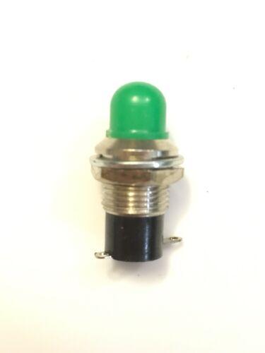 T2 Type Screw In Base. Miyama 6V Relampable Green Lens Indicator Light