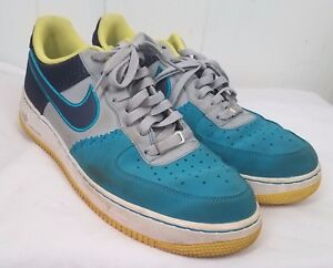 Details About Air Grey 1 Teal Wolf 11 Tennis Force Tropical Size Nike Navy Sneakers Shoe Mid 5 n8OPwNX0Zk