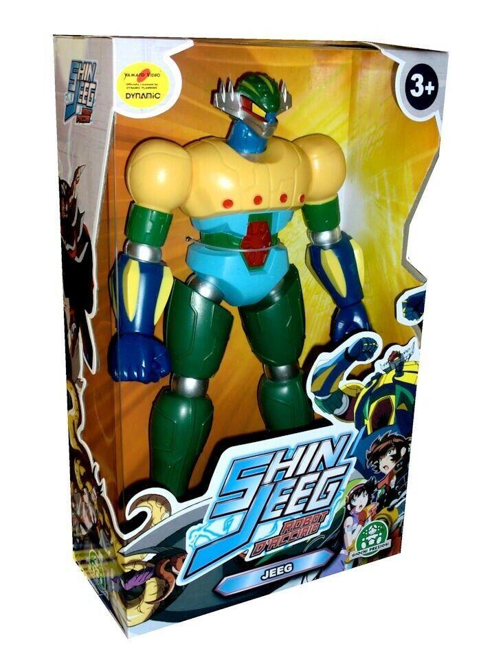 Juegos Preziosi Shin Jeeg - Jeeg Figura Acción PVC 30cm New