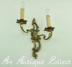 Antique Applique Murale En Laiton Français Rococo Ancien Luminaires Lampe De Mur Ab5ggowb-10132632-934374740