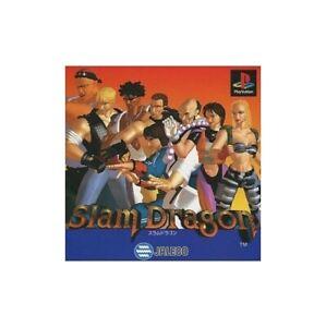 USED-PS1-PS-PlayStation-1-SLAM-DRAGON-08030-JAPAN-IMPORT