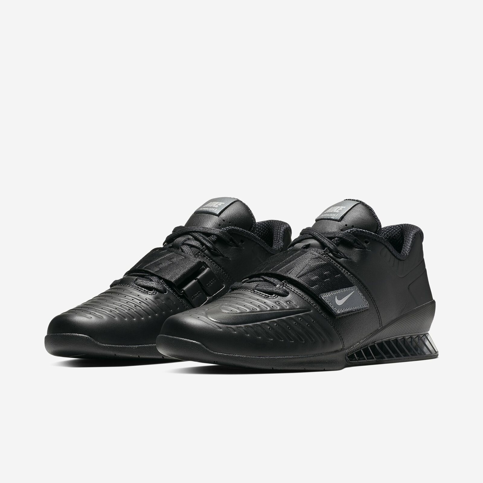 Nike Romaleos 3 XD 3.5 Triple Black Lifting Powerlifting Workout 2019 All New