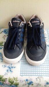 Men''s Adidas Neo Blue Trainers Size UK