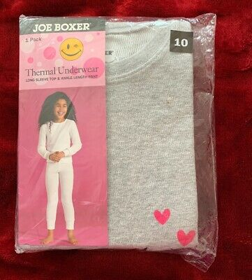 Red Tag Childrens Long Sleeve Thermal Top//Underwear