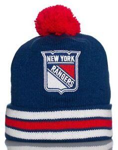 a35c2576cbd Mitchell   Ness New York Rangers Cuffed Pom Knit Multi Team Clrs ...