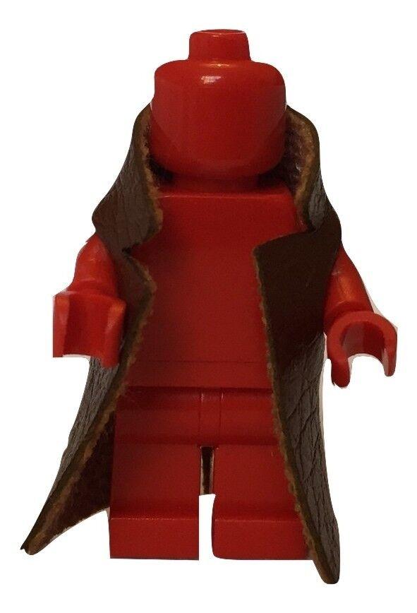 """""""cuir"""" Trench Coat Long (marron) Pour Lego Minifigures Accessoires"""