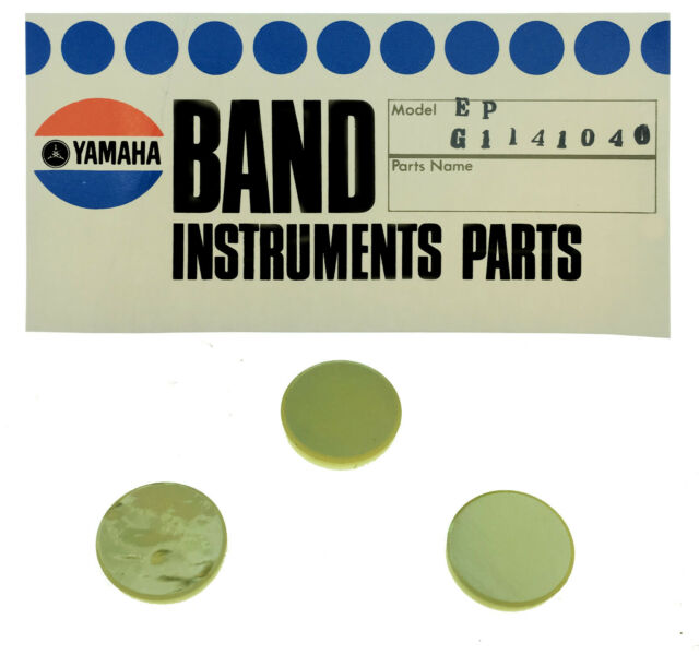 Lacquered Genuine Yamaha Baritone//Euphonium Valve Finger Button