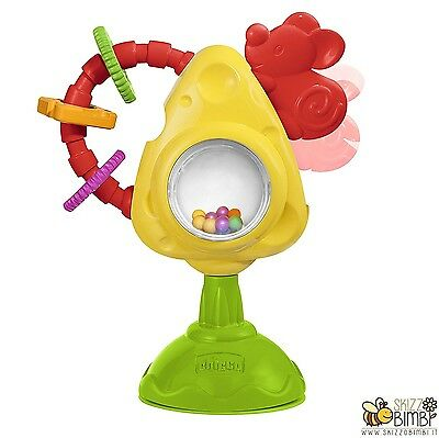 Chicco Seggiolone Gioco Seggiolone Toy Mouse & Formaggio