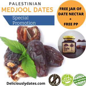 Medjool dates Premium de Palestine 900 g Pack | Free bocal de date Nectar PP |