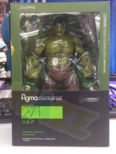 Figma 271# The Avengers Hulk PVC Action Figure Model 17cm Collection
