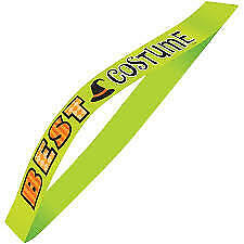 Halloween Best Costume Satin Sash