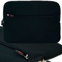 Black Soft Sleeve Pouch Case Pocket For Coby Tfdvd7011 7 Portable Dvd Player