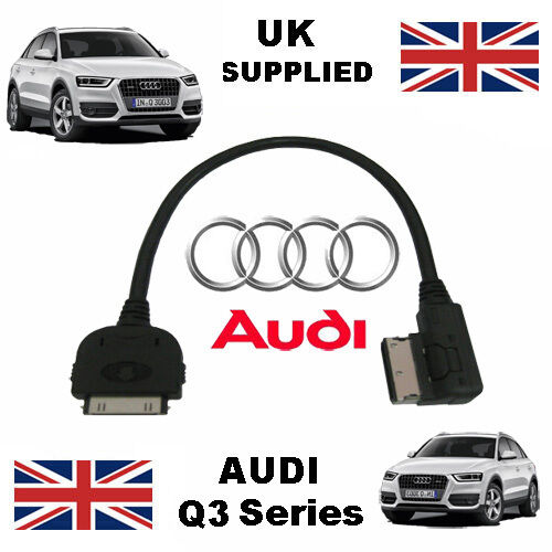 AUDI Q3 Series AMI 4F0051510K For Apple 3gs 4 4s iPhone iPod Audio Cable