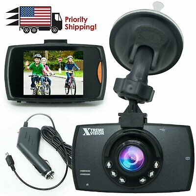 Car DVR Video Recorder Night Vision G Sensor Camera 1080P HD Vehicle Dash Cam
