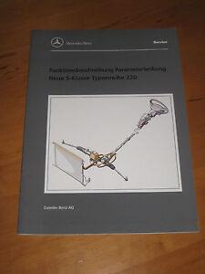 Mercedes-Service-W-220-Parameterlenkung-Funktionsbeschreibung