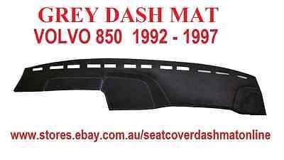 DASH MAT, DASHMAT, DASHBOARD COVER FIT  VOLVO 850  1992-1997, GREY