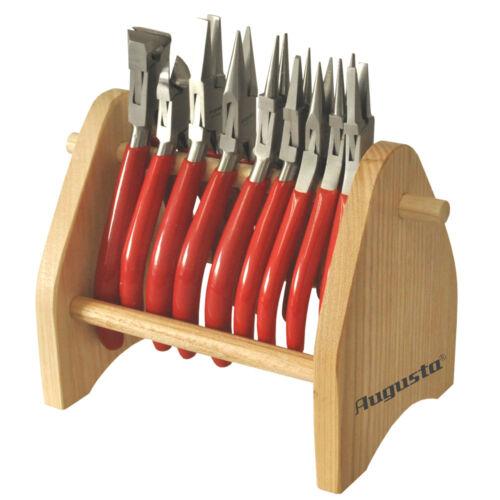Details about  /9x augusta pliers cutting set uhrmacherzangen wooden on stand n Coupante Sur Support en Bois data-mtsrclang=en-US href=# onclick=return false; show original title