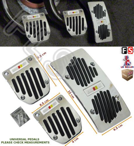 research.unir.net 3pcs UNIVERSAL MANUAL CAR FOOT PEDAL PAD COVER ...