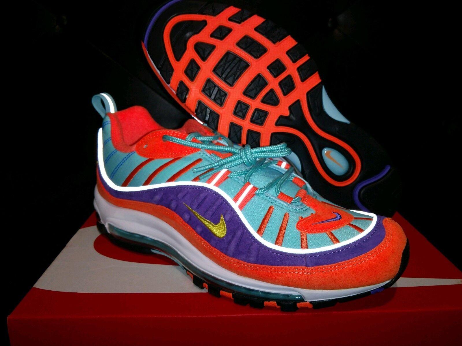Nike Air Max 98 QS NIB Sz 9.5 Limited Edition Hyper/Purple